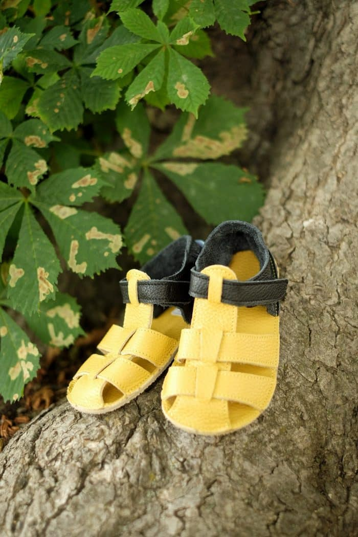 Baby Bare Shoes - Sandals Summer New - Ananas 4