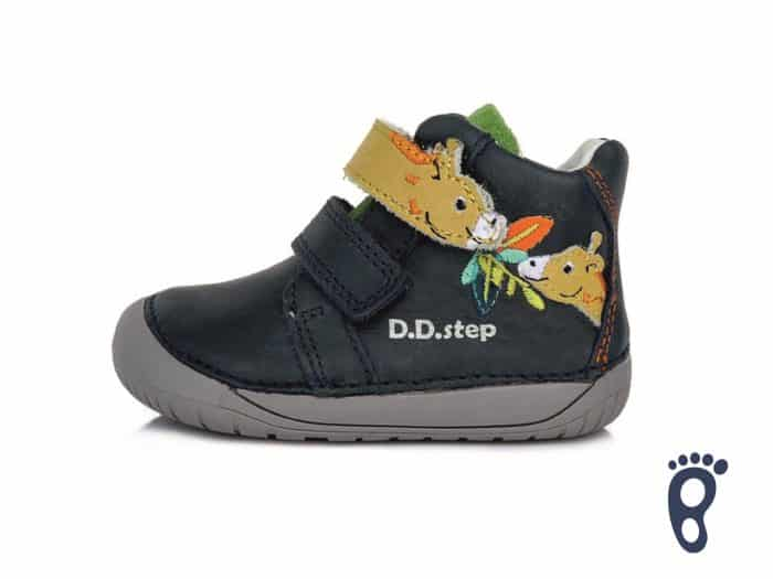 D.D.Step - Prechodné topánky - Royal Blue - Žirafa 1