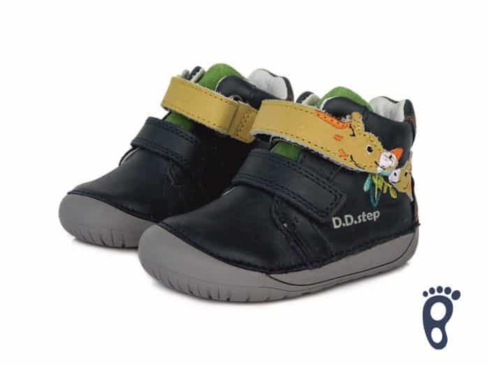 D.D.Step - Prechodné topánky - Royal Blue - Žirafa 2