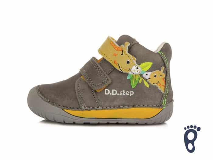 D.D.Step - Prechodné topánky - Dark Grey - Žirafa 1
