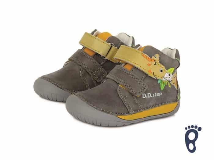 D.D.Step - Prechodné topánky - Dark Grey - Žirafa 2