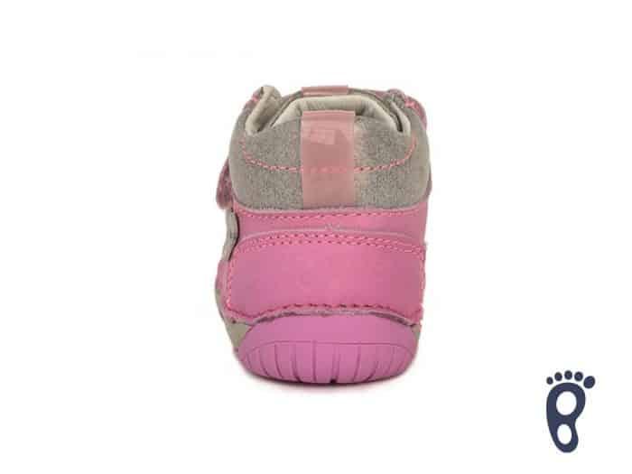 D.D.Step - Prechodné topánky - Dark Pink - Kvietky 3