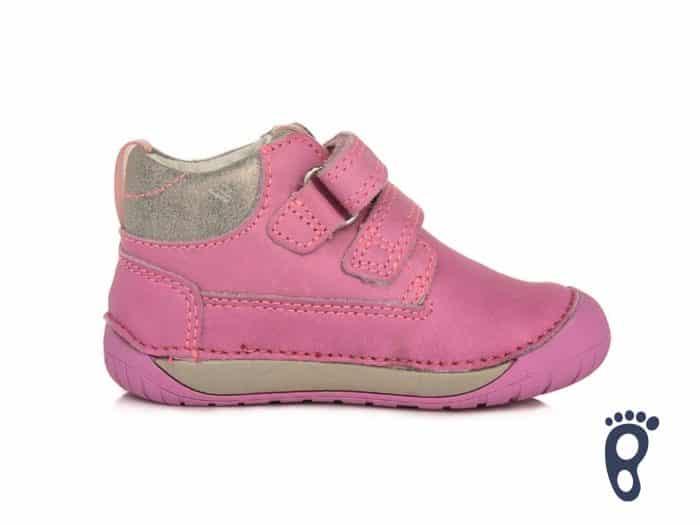 D.D.Step - Prechodné topánky - Dark Pink - Kvietky 4