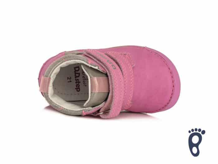 D.D.Step - Prechodné topánky - Dark Pink - Kvietky 5