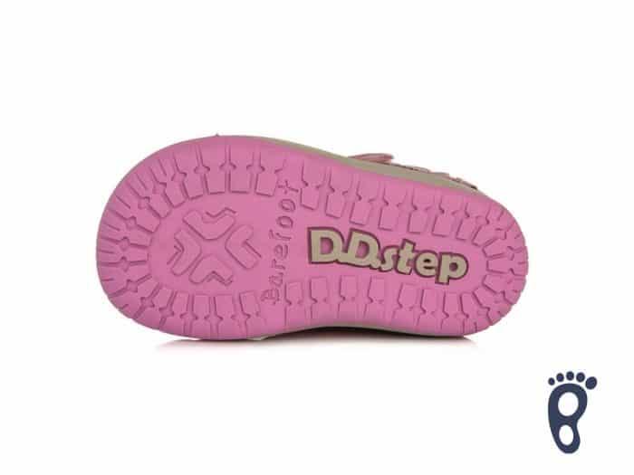 D.D.Step - Prechodné topánky - Dark Pink - Kvietky 6
