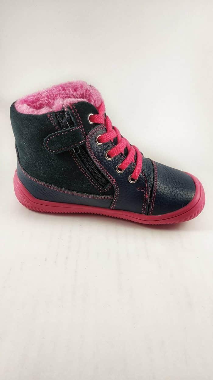 Protetika Barefoot - Zateplené topánky - Amis - Fuxia 1