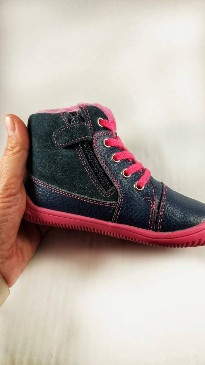 Protetika Barefoot - Zateplené topánky - Amis - Fuxia 2