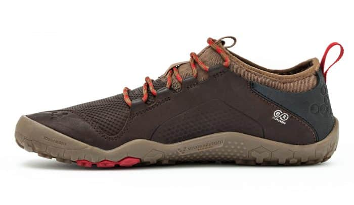 Vivobarefoot PRIMUS TREK L Leather Dk Brown