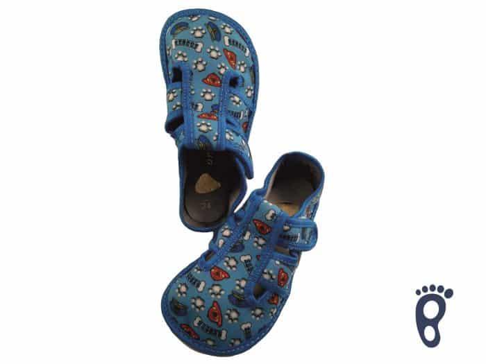 Anatomic - Chlapčenské papučky - Modré labky 1