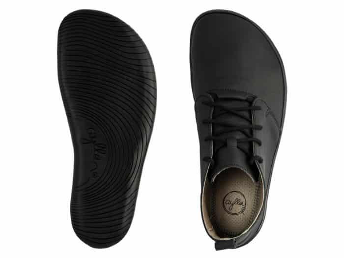 Barefoot topánky Aylla - Tiksi Black - Pánske 4