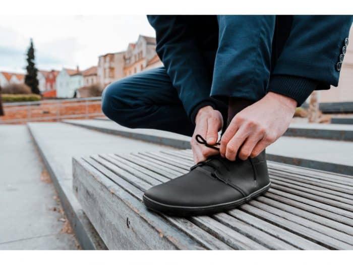 Barefoot topánky Aylla - Tiksi Black - Pánske 6