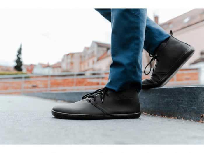 Barefoot topánky Aylla - Tiksi Black - Pánske 7