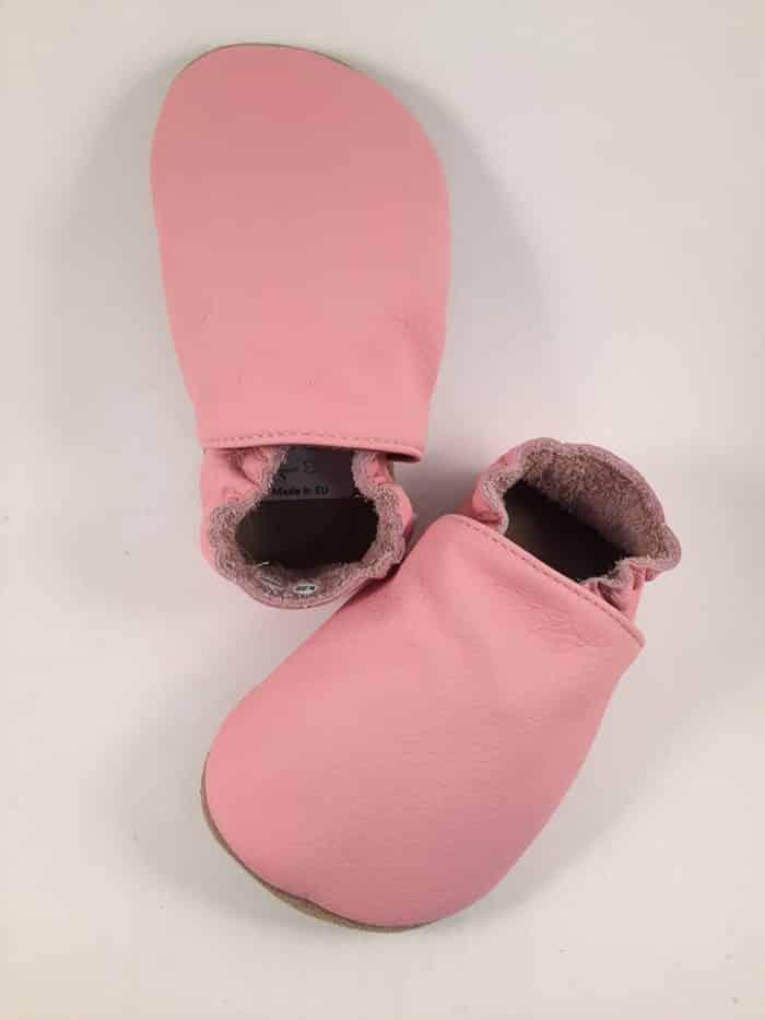 BaBice - Ružové jednofarebné capačky 1