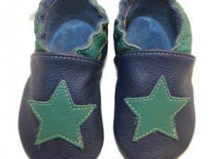 babice hviezda tmavo zelena