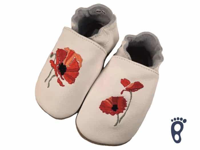 BaBice - Kvety vlčí mak - vyšívané 1