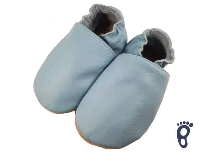BaBice - Modré jednofarebné capačky 1