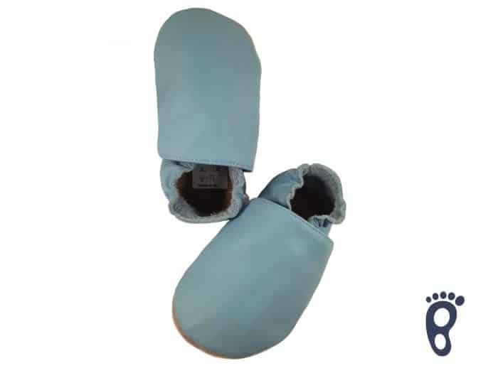 BaBice - Modré jednofarebné capačky 2