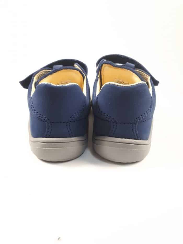 Baby Bare Shoes - FEBO Spring - Navy Velour 3
