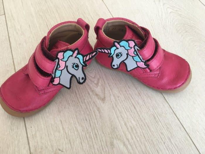 baby bare ozdoba unicorn grey pink