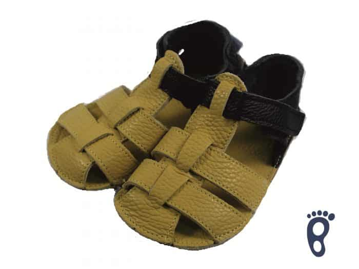 Baby Bare Shoes - Sandals Summer New - Ananas 3
