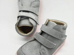 baby bare shoes barefoot topanky prechodne febo fall dievcenske pink grey