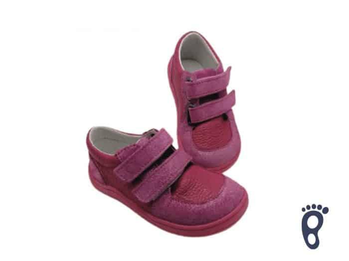 Baby Bare Shoes - FEBO Youth - Fuchsia 1