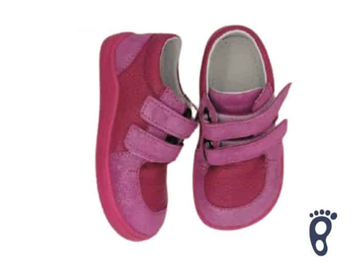 Baby Bare Shoes - FEBO Youth - Fuchsia 2