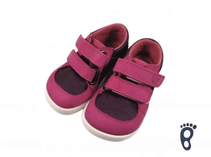 Baby Bare Shoes - FEBO Sneakers - Fuchsia/Purple 1