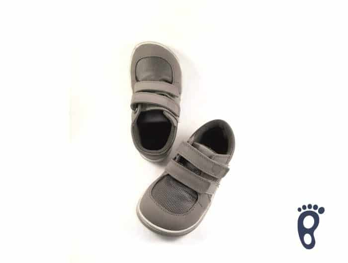Baby Bare Shoes - FEBO Sneakers - Grey 1