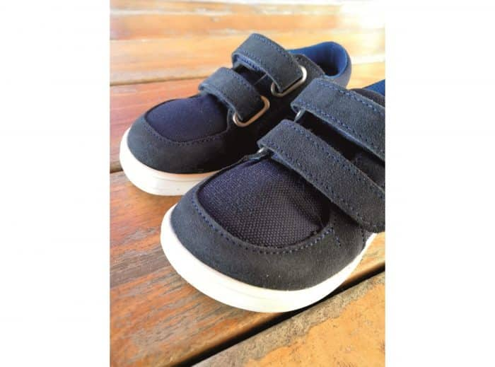 baby bare shoes febo sneakers navy
