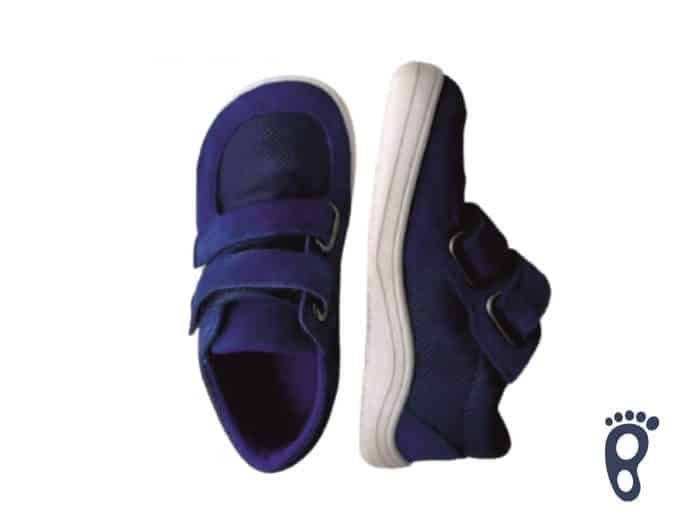 Baby Bare Shoes - FEBO Sneakers - Navy 1