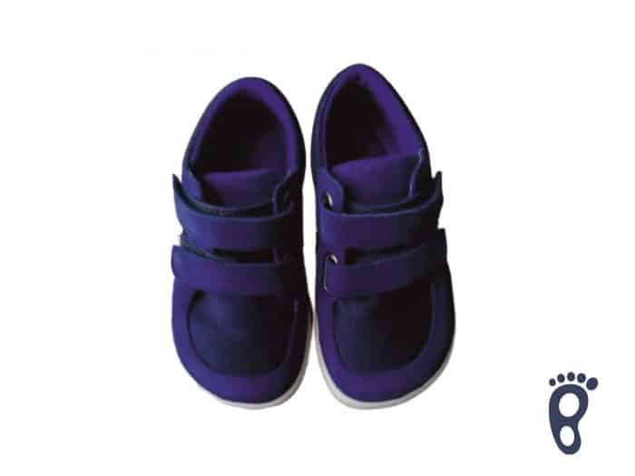 Baby Bare Shoes - FEBO Sneakers - Navy 2