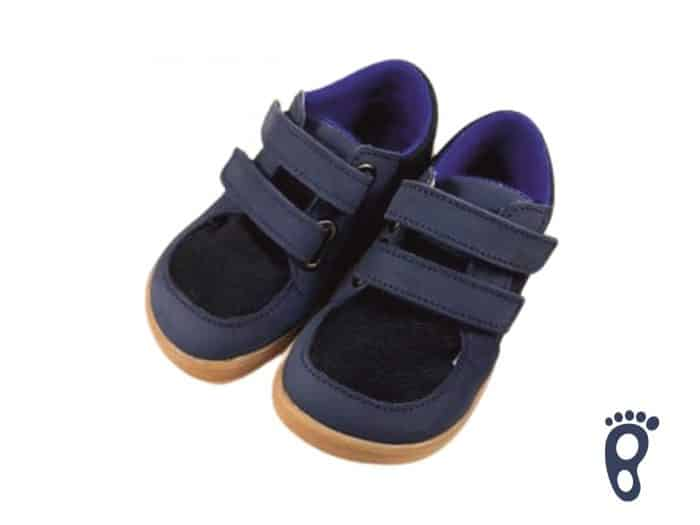 Baby Bare Shoes - FEBO Sneakers - Navy/Resina 1