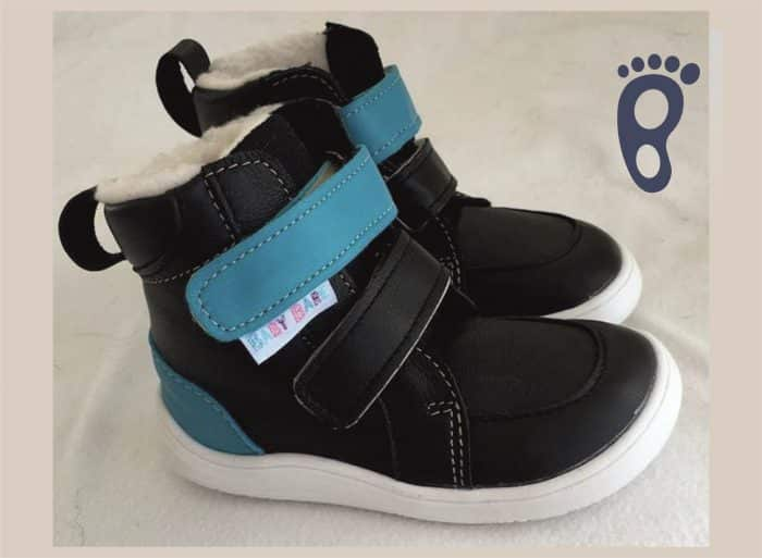 baby bare shoes febo winter black