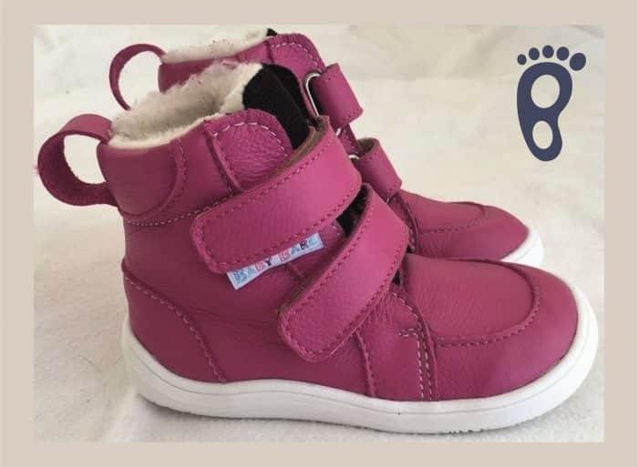 baby bare shoes febo winter fuchsia