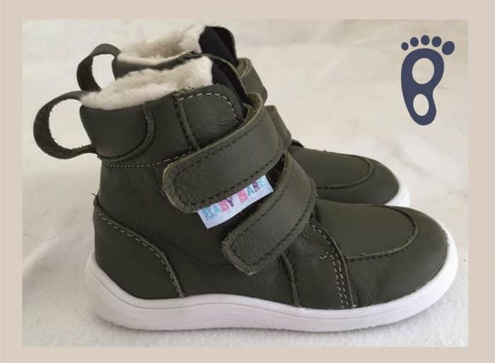 baby bare shoes febo winter khaki