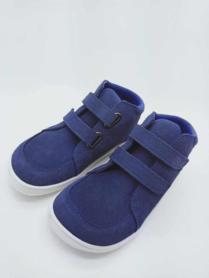 Baby Bare Shoes - FEBO FALL - Jeany - Velúrová koža 1