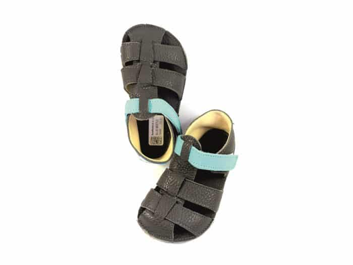 baby bare shoes sandals summer new blue beetle