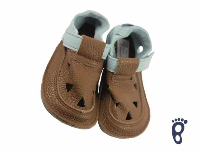 Baby Bare Shoes - Top Stitch - Bear 2