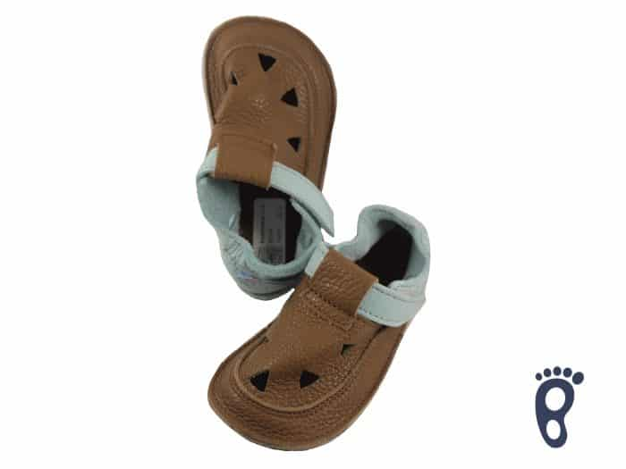 Baby Bare Shoes - Top Stitch - Bear 1