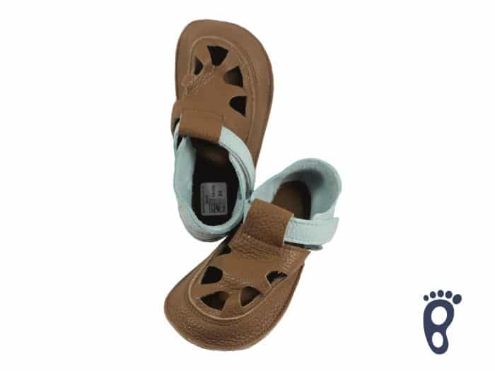 Baby Bare Shoes - Summer - Bear 1