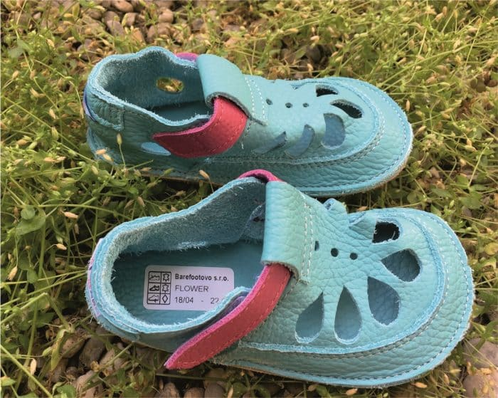baby bare shoes summer flower