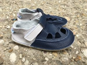 baby bare shoes summer perforation gravel