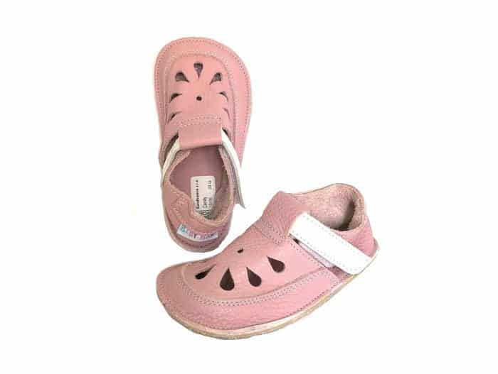 baby bare shoes top stitch candy