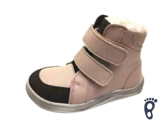 Baby Bare Shoes - Winter s membránou - Nude 1