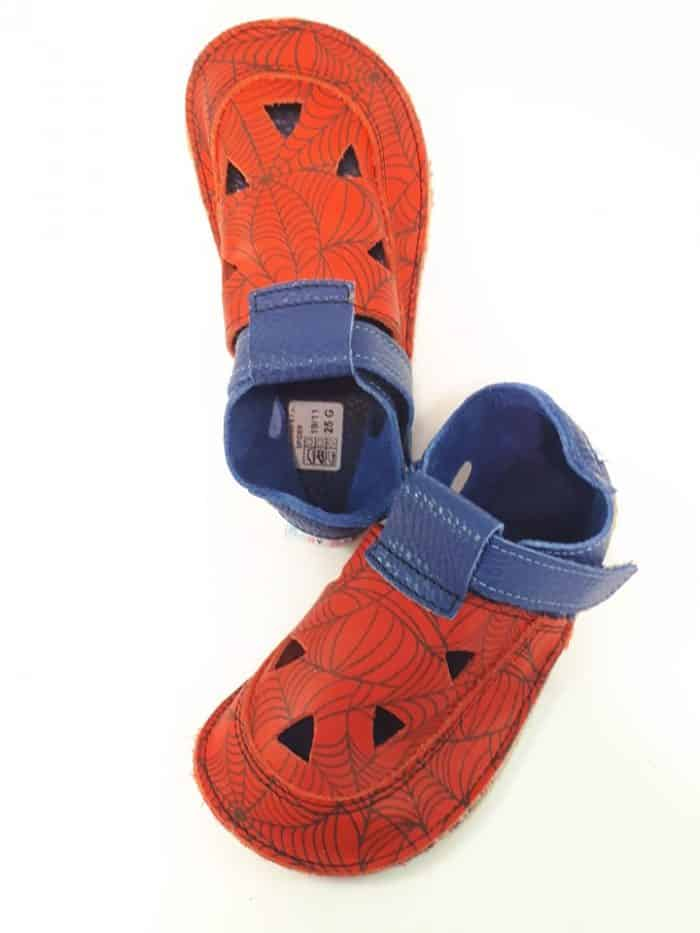 Baby Bare Shoes - Top Stitch - Spider 1