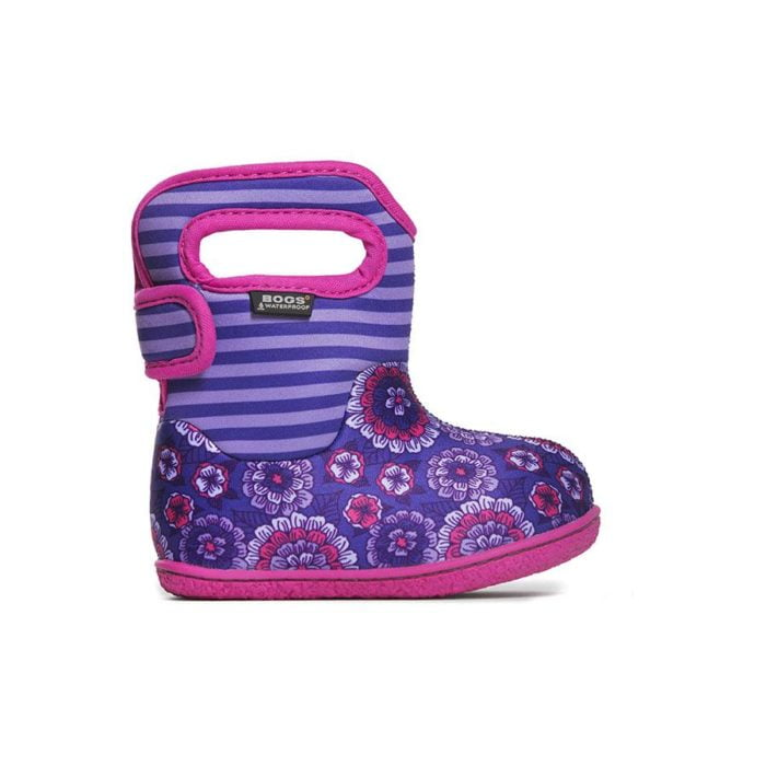 baby bogs classic pansy violet multi