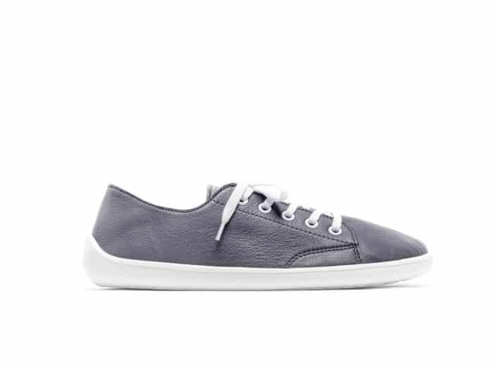 belenka be lenka barefoot tenisky kozene celokozene prime grey