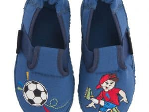 barefoot papucky papuce futbalista chlapcenske