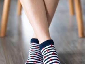 barefoot ponozky belenka kotva kratke